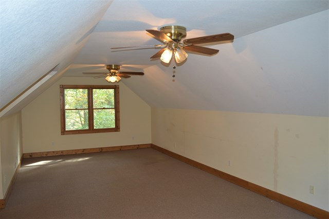 Upstairs finished room above garage